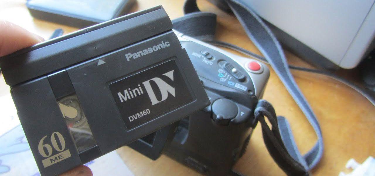 Transfert de Mini-DV