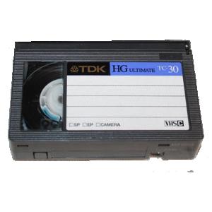 Transfert cassette vhsc