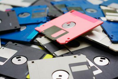 Floppy disks transfert