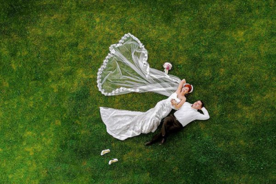 Video drone mariage
